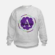 Personalized Name Monogram Gift Sweatshirt