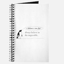 Funny Penguin Journal