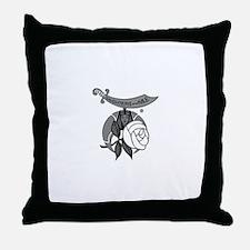Cute Daughters nile Throw Pillow