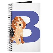 Puppy Letter B Journal