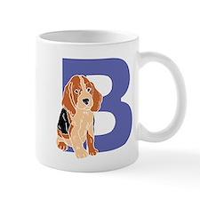 Puppy Letter B Mugs