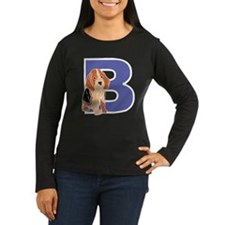 Puppy Letter B Long Sleeve T-Shirt