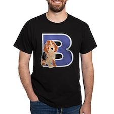 Puppy Letter B T-Shirt