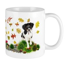 Fall Puppy Mugs