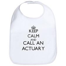 Keep calm and call an Actuary Bib