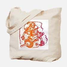 Abstract Tennis Player Tote Bag