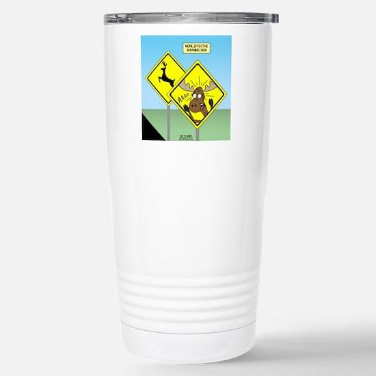 Deer Crossing Stainless Steel Travel Mug