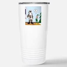 Santa in Camouflage Travel Mug