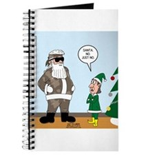 Santa in Camouflage Journal