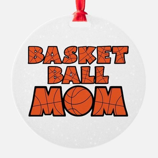 BASKETBALL Round Ornament