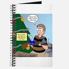 supervillain christmas Journal