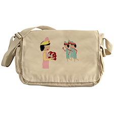 Cute High school Messenger Bag