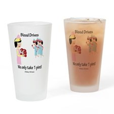 Funny Driving Drinking Glass