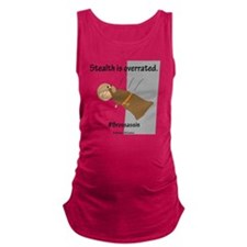 Cute Monks Maternity Tank Top