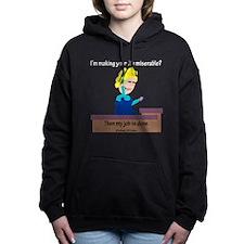 Guami Miserable - Hallwa Women's Hooded Sweatshirt