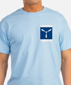 RAF Senior Aircraftman<BR> Blue T-Shirt