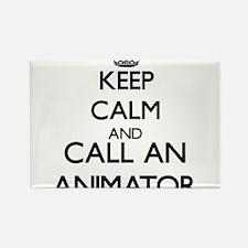 Keep calm and call an Animator Magnets