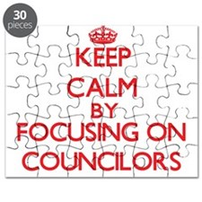 Keep Calm by focusing on Councilors Puzzle