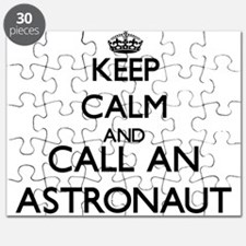 Keep calm and call an Astronaut Puzzle