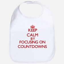 Keep Calm by focusing on Countdowns Bib