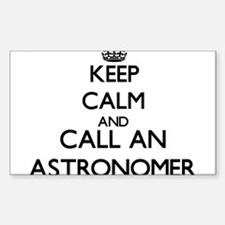 Keep calm and call an Astronomer Decal