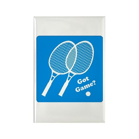 Tennis Got Game? Rectangle Magnet (100 pack)