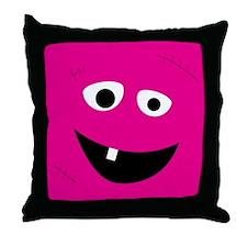 Pink Halloween Throw Pillow