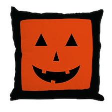 Pumpkin Halloween Throw Pillow