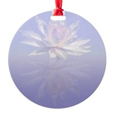 Lotus Flower Reflected Ornament
