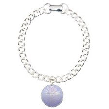 Lotus Flower Reflected Charm Bracelet, One Charm