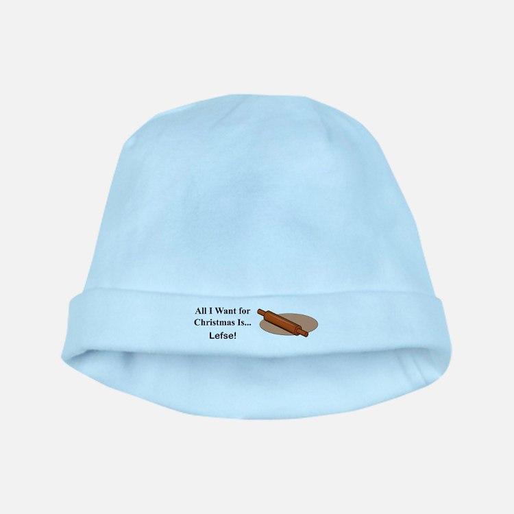 Christmas Lefse baby hat