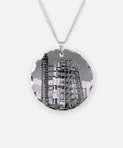 Saturn V Necklace