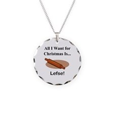 Christmas Lefse Necklace