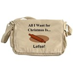 Christmas Lefse Messenger Bag