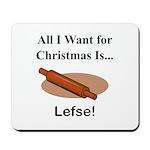 Christmas Lefse Mousepad
