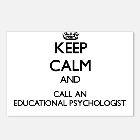 Keep calm and call an Edu Postcards (Package of 8)