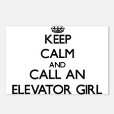 Keep calm and call an Ele Postcards (Package of 8)