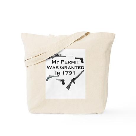Second Amendment Tote Bag.