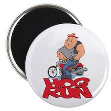 Hog Run Magnet