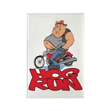 Hog Run Rectangle Magnet