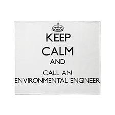 Keep calm and call an Environmental Throw Blanket
