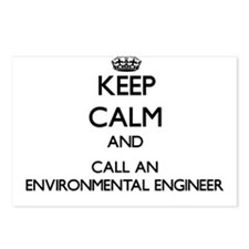Keep calm and call an Env Postcards (Package of 8)