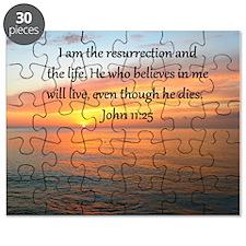 JOHN 11:25 Puzzle