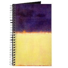rothko-orange box with purple & yellow Journal