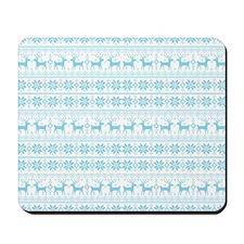 Merry Christmas pattern 1 Mousepad