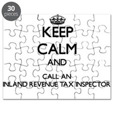 Keep calm and call an Inland Revenue Tax In Puzzle