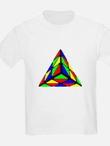 Pyraminx cude painting01 T-Shirt