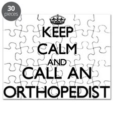 Keep calm and call an Orthopedist Puzzle