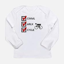 Crawl Walk Cycle Long Sleeve T-Shirt