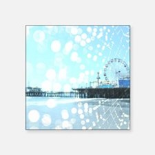 Turquoise Pier Spiderwebs Sticker